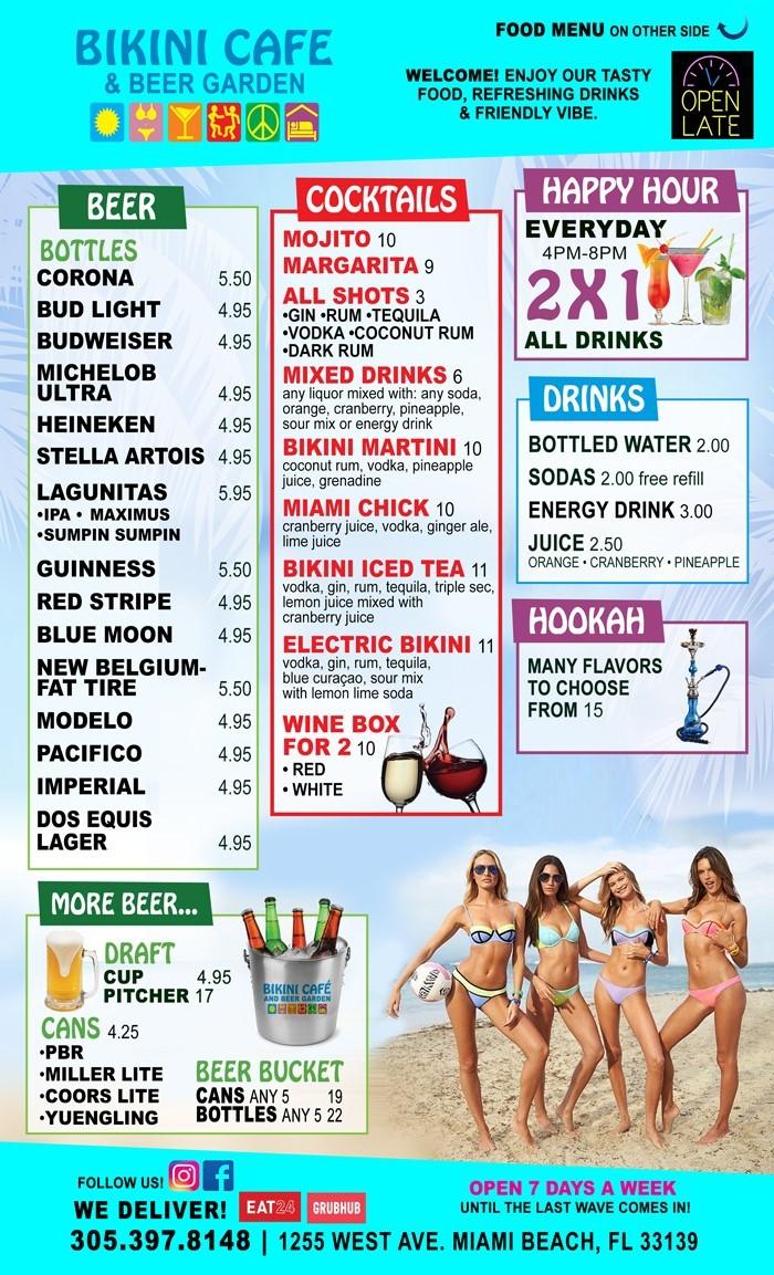Cafe & Beer Garden - Bikini Lodge